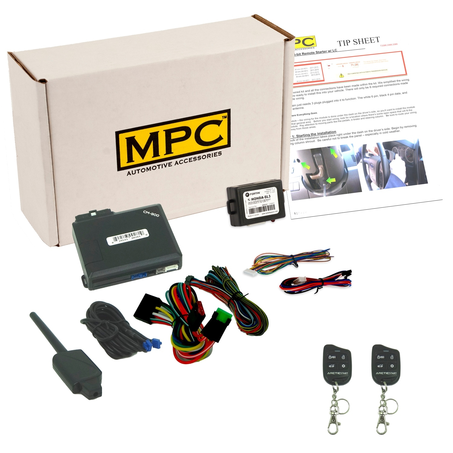hight resolution of shop complete remote start keyless entry kit for 2007 2010 acura rdx w bypass module downloadable tip sheet free shipping today overstock 23158783