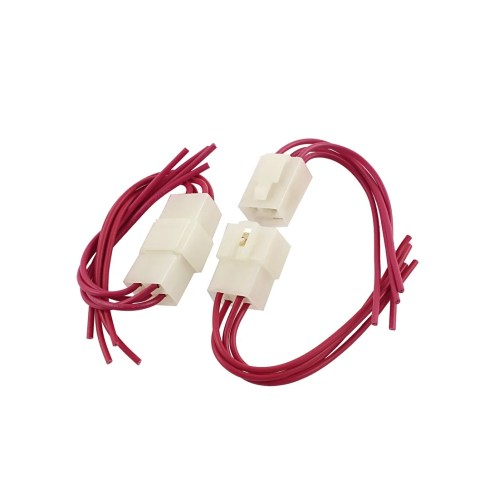 small resolution of shop car audio radio stereo wiring harness 4 pin wire adapter connectors 2pcs on sale free shipping on orders over 45 overstock 18260038