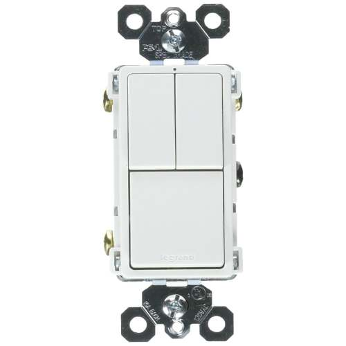 small resolution of shop legrand rcd113wcc6 grounding 2 single pole 1 single 3 way switch white 15a free shipping on orders over 45 overstock 25091722