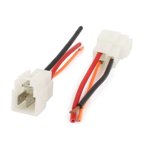 small resolution of shop unique bargains motorcycle 3 way cable wire wiring harness female adapter connector 2pcs on sale free shipping on orders over 45 overstock
