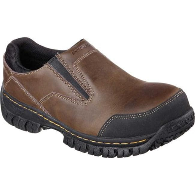 Mens Brown Slip On Shoes