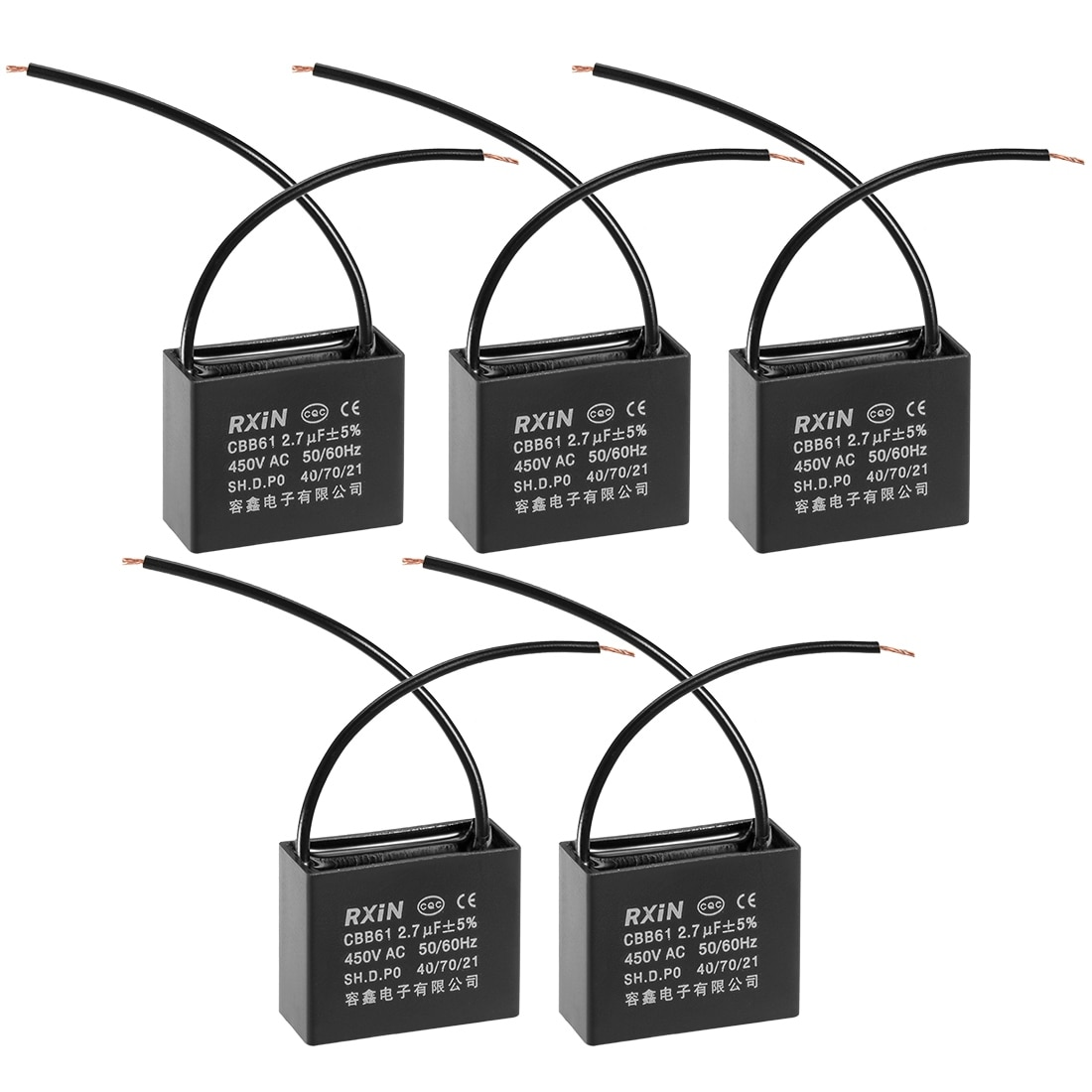 hight resolution of shop run capacitor 450v ac 2 7 uf metallized polypropylene film capacitors 5pcs 2 7 uf 5pcs on sale free shipping on orders over 45 overstock