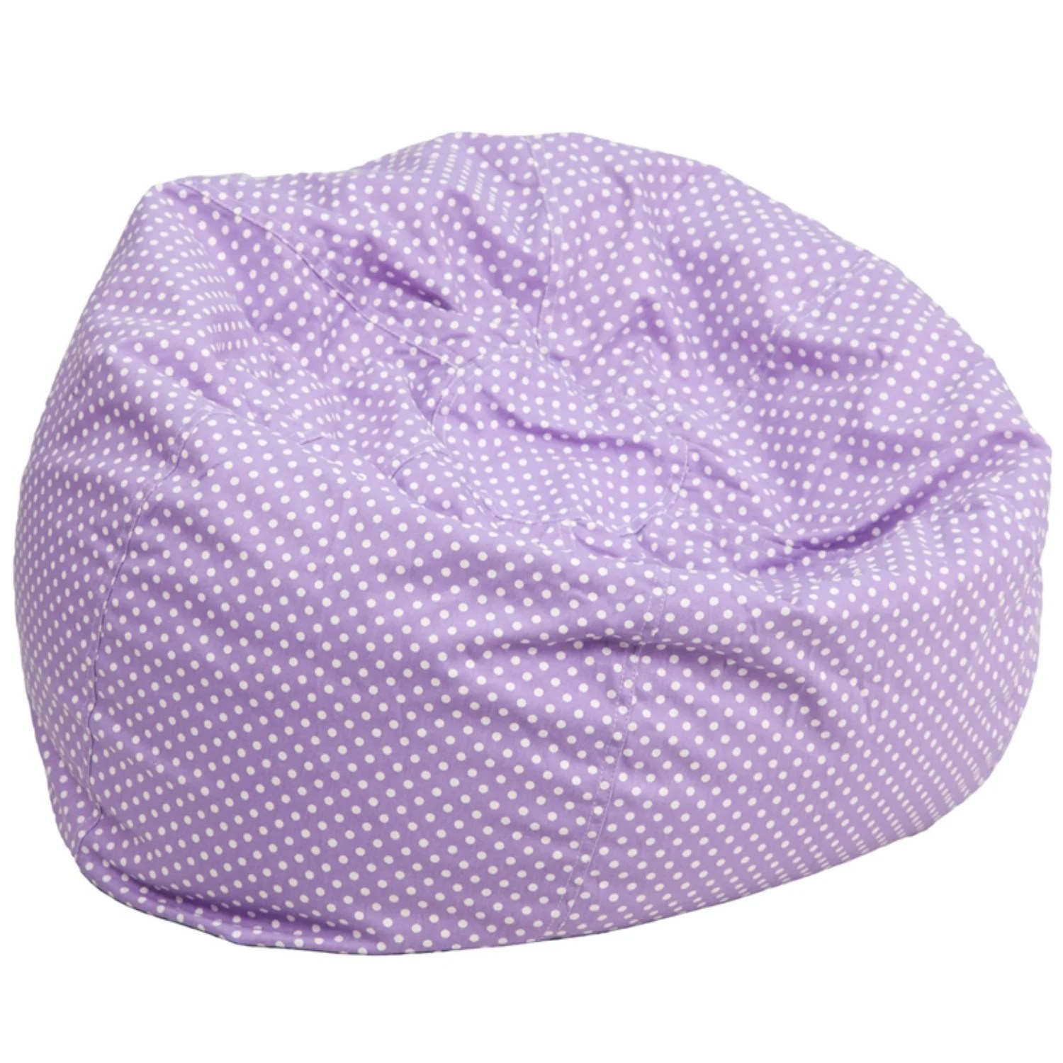 Mini Bean Bag Chair Offex Oversized Lavender Dot Bean Bag Chair