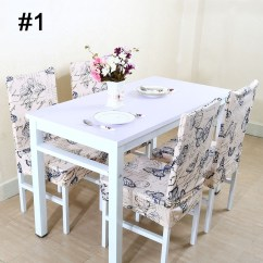 Dining Chair Covers Pottery Barn Lamb Shop Stretch Spandex Short Seat Slipcover Cover Free
