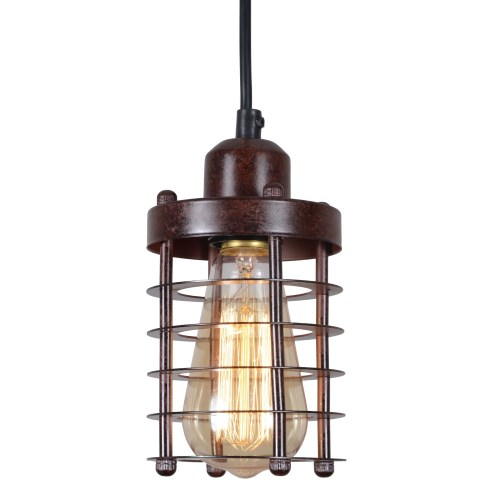 small resolution of shop rustic wire cage vintage industrial pendant light fixture hall ceiling light fixture updated wiring vintage lighting on on hall