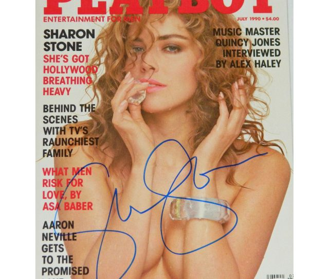 Shop Sharon Stone Playboy Magazine July 1990 Issue Free Shipping Today Overstock Com 13076196