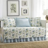 Shop Laura Ashley Peony Garden 5-piece Quilted Daybed ...