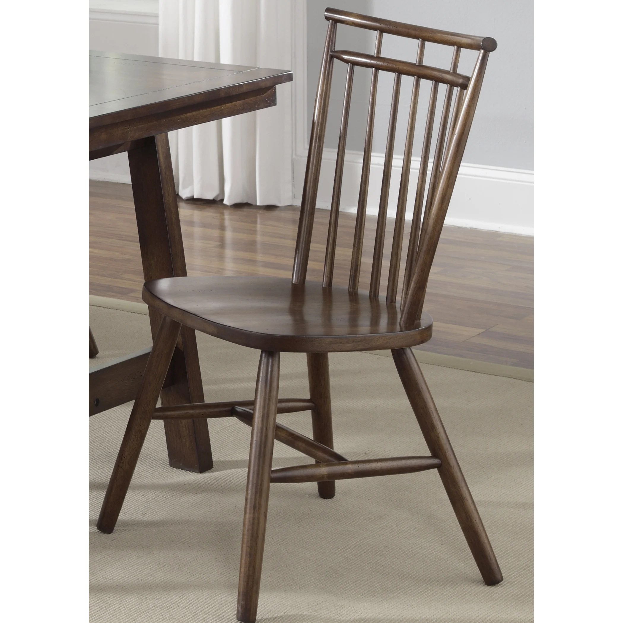Spindle Dining Chairs Shop Creations Tobacco Lifestyle Spindle Back Dining Chair