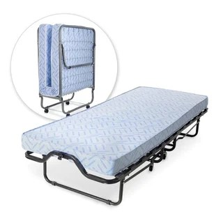 Milliard Lightweight 74 X 31 Inch Rollaway Folding Cot Guest Bed With Medium Firm