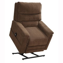 Power Lift Chairs Medicare Wooden Outdoor Rocking Canada Myles Brown Fabric Chair Recliner Overstock