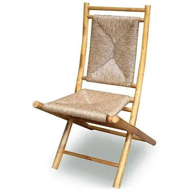 bamboo folding chair bathtub for baby shop heather ann chairs set of 2 free shipping today overstock com 10060676