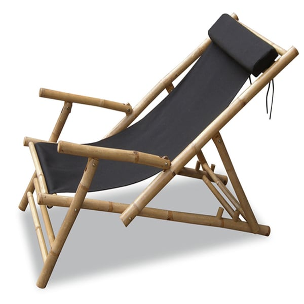 folding chair for massage cushion high top table height shop heather ann bamboo sling with arms and head h