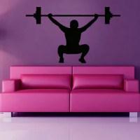 Gym Inspirational Quote Vinyl Sticker Wall Art - 17524357 ...