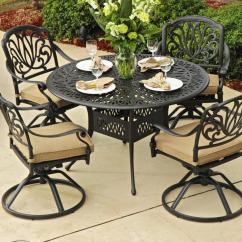 Most Durable Sofa Manufacturers Mid Century Modern Sectional Cast Aluminum: Patio Dining Sets Aluminum