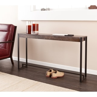 industrial living room furniture without coffee table ideas find great deals holly martin macen console