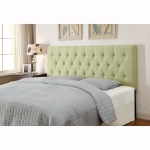 Lime Green Queen Full Size Tufted Upholstered Headboard Overstock 10091346