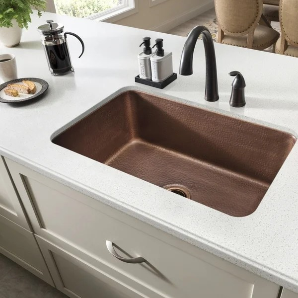 brown kitchen sink memory foam rugs shop sinkology o keefe undermount 30 single bowl x27