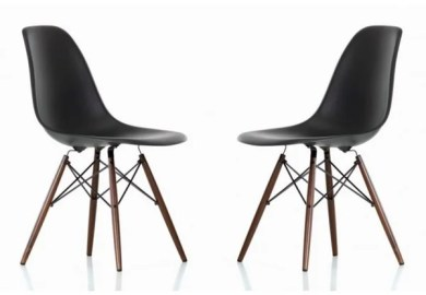 Eames Molded Plastic Chair Dining Room