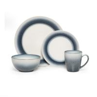 Shop Pfaltzgraff Eclipse Blue Dinnerware 16-piece Set ...