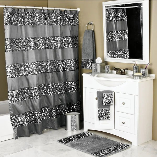Luxury Shower Curtain And Hooks Set Or Separates Free Shipping