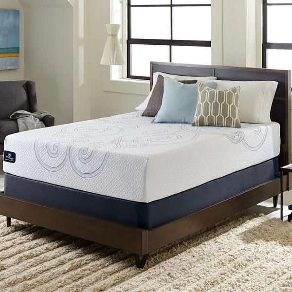 Serta Perfect Sleeper Isolation Elite 12 Inch Split Queen Size Gel Memory Foam Mattress