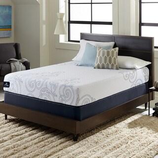 Serta Perfect Sleeper Isolation 10 Inch King Size Gel Memory Foam Mattress Set