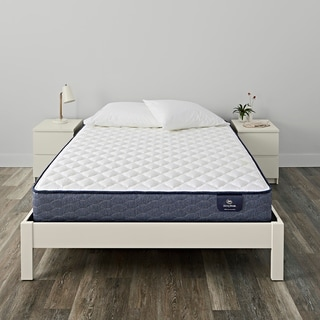 Serta Chrome Firm Queen Size Mattress Set