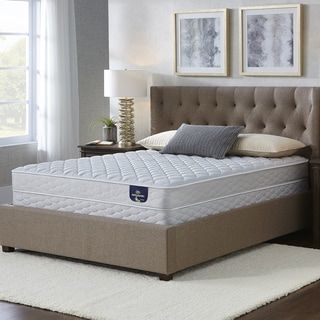 Serta Chrome Firm Twin Xl Size Mattress Set