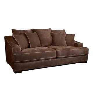 fairmont cooper sofa designer bettsofa gunstig furniture of america kailer chocolate suede - free ...