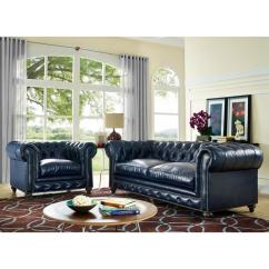 Blue Leather Living Room Sets How To Decorate A Country Shop Durango Rustic Set Free Shipping
