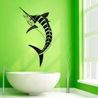 Marlin Fish Vinyl Wall Art - Free Shipping On Orders Over ...