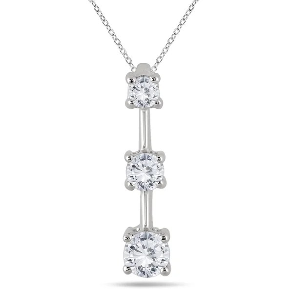 Shop Marquee Jewels 14k White Gold 1ct TDW Diamond