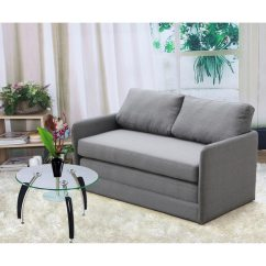 Twin Size Sleeper Sofa Mattress Stickley Mission Leather Kathy Reversible 5.1 Inches Foam Fabric Loveseat And ...