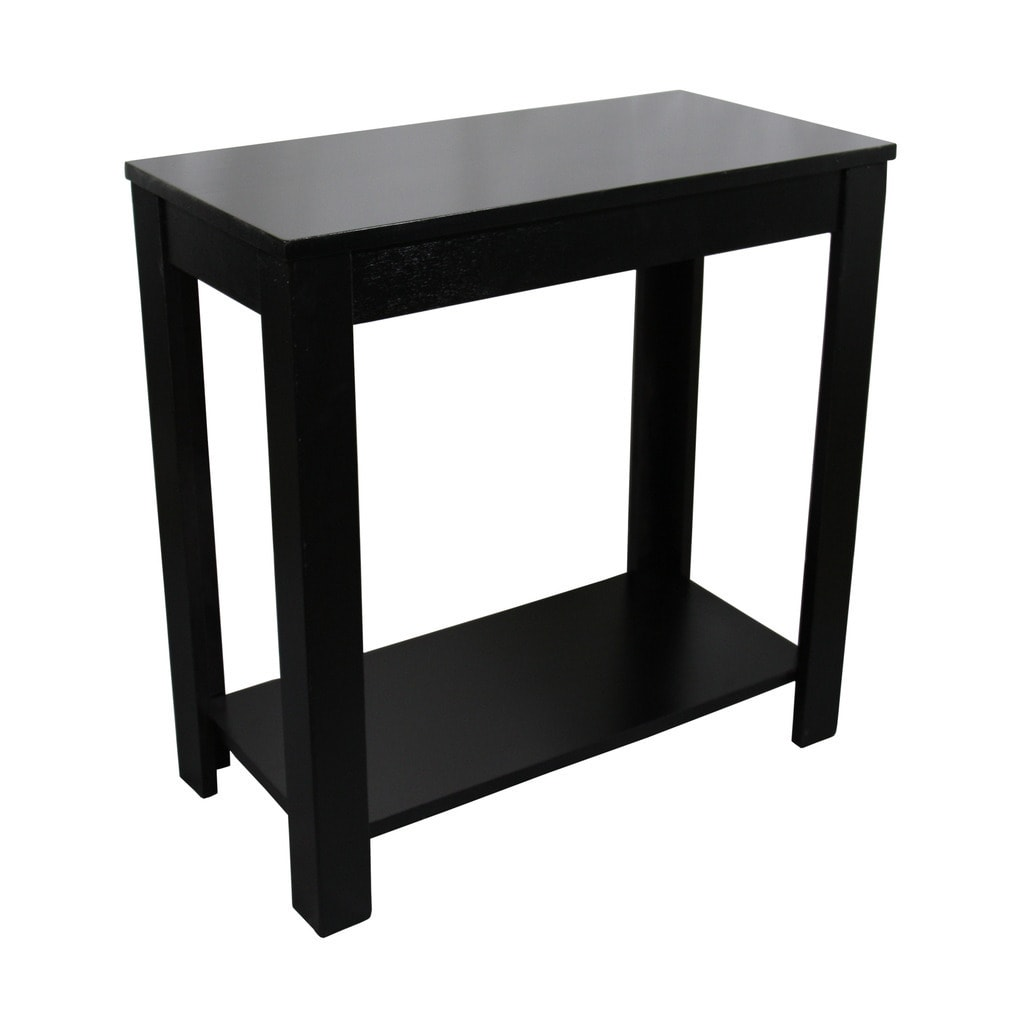 Chair Side Table 24 Inch Black Chairside Table Ebay