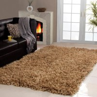 Shop Affinity Home Collection Cozy Shag Area Rug (3' x 5 ...