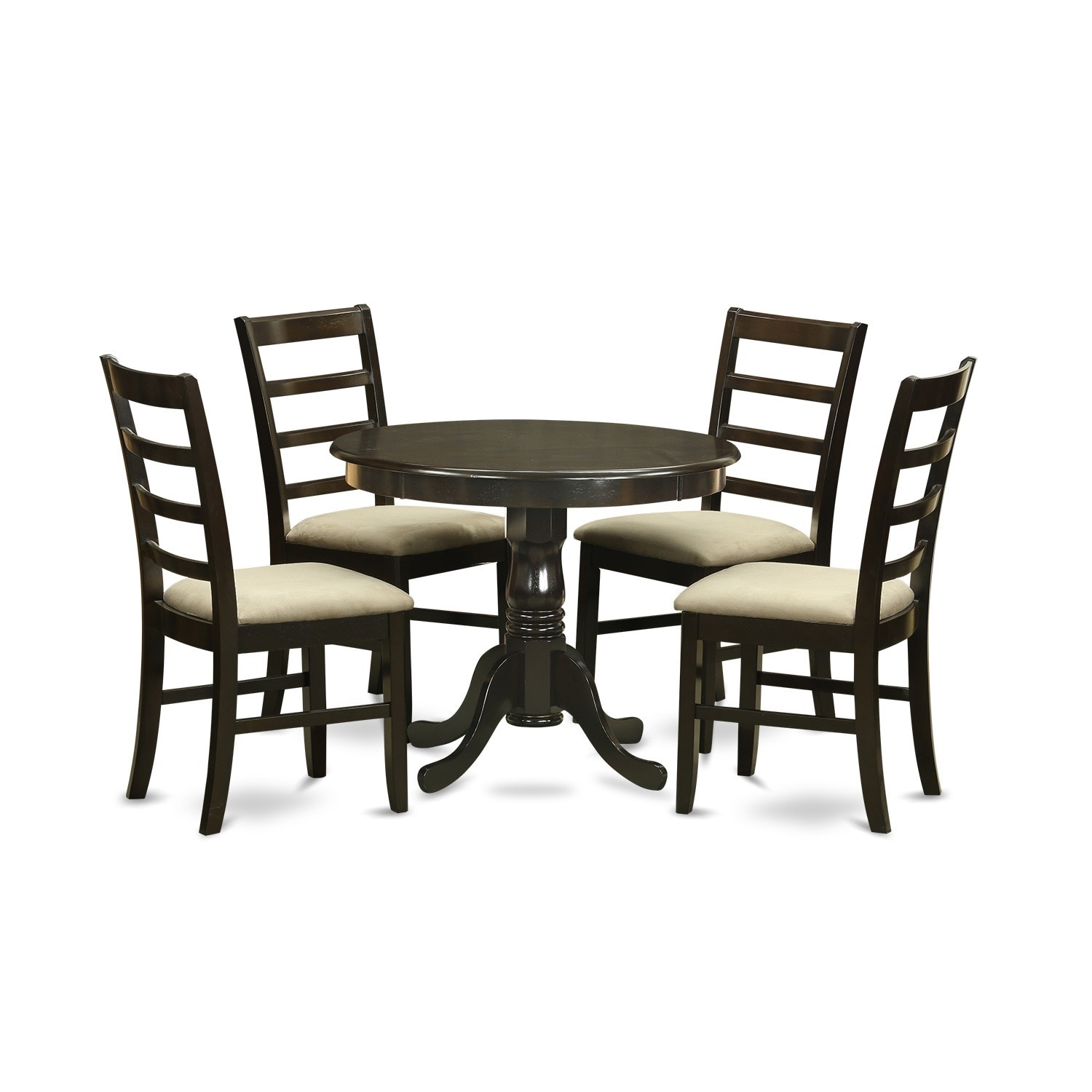 Set Of 4 Kitchen Chairs Details About 5 Piece Kitchen Table Set And 4 Kitchen Chairs