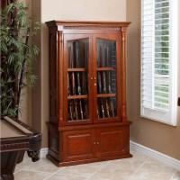 wood gun display cabinet   Roselawnlutheran