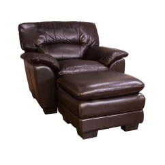 Oversized Leather Chair And Ottoman Wishing Cake Stand Shop Chocolate Set Free