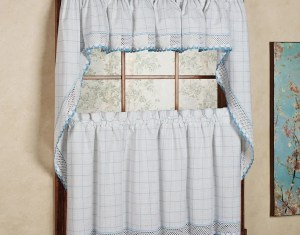 Blue And White Curtains On Pinterest Window Treatments