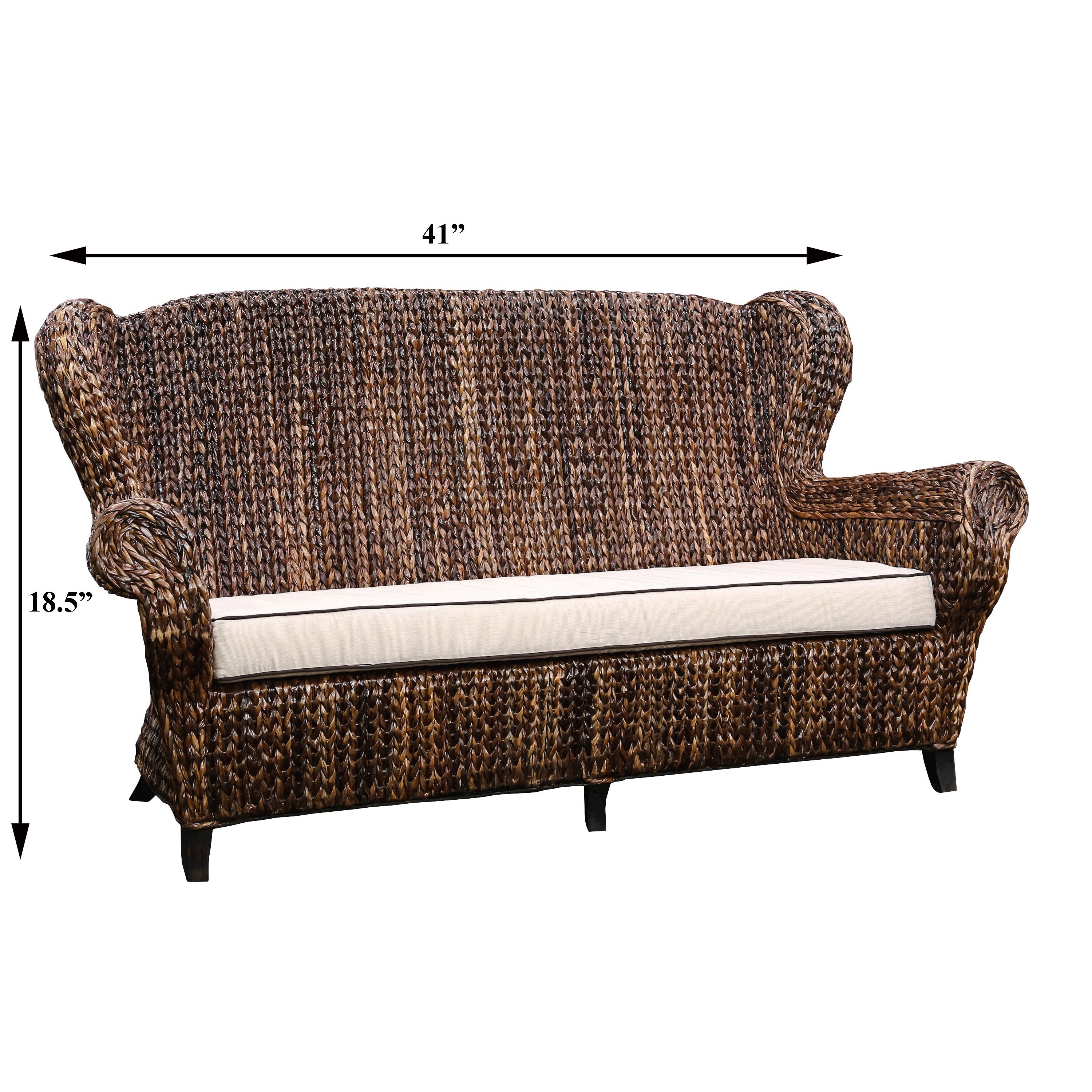 wicker sofa set philippines navy blue sectional with white piping rattan bed home the honoroak