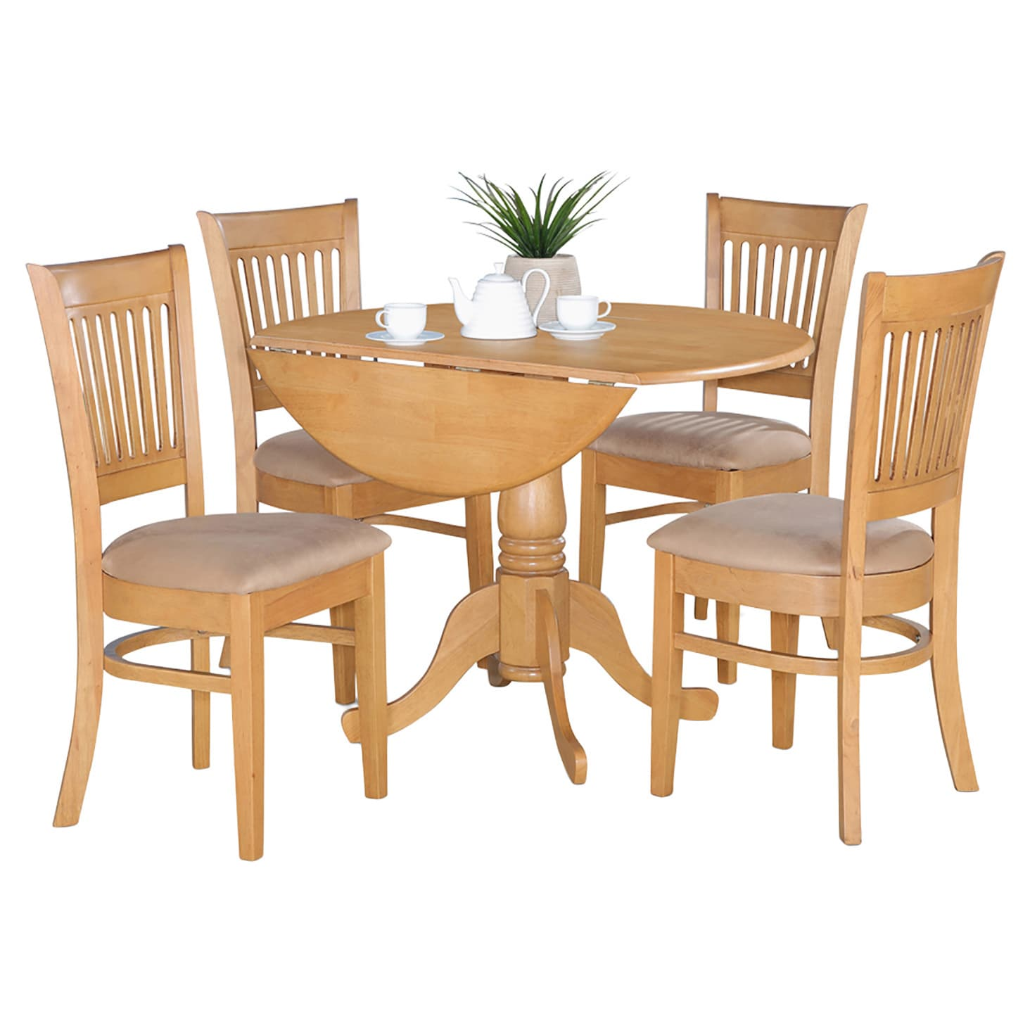 overstock com dining room chairs quilted chair cushions 1cheap oak drop leaf table and 4 dinette affordable