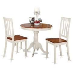Two Chair Dining Table Black Covers Target Shop Buttermilk And Cherry Kitchen 3 Piece Set