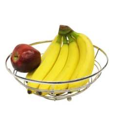 Folding Banana Lounge Chair Coastal Kitchen Table And Chairs Gourmet Basics By Mikasa French Countryside Fruit Basket With Hanger - 17268022 ...