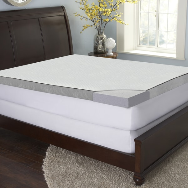 Sinomax Sleep 3 Inch Gel Memory Foam Mattress Topper