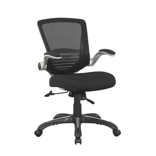 office chair comfort accessories double adirondack chairs with umbrella manhattan for less overstock com ergonomic walden in black mesh