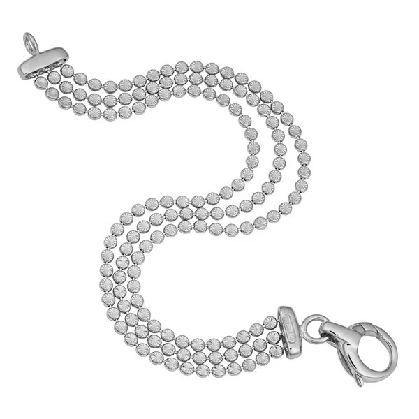 Shop Argento Italia Rhodium Plated Sterling Silver Three