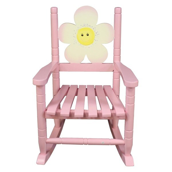 rocking chair kids yellow spandex sashes shop teamson safari flower free shipping today overstock com 10292425