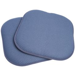 Chair Pads Non Slip Rubber Feet Replacement 16x16 Memory Foam Pad Seat Cushion With