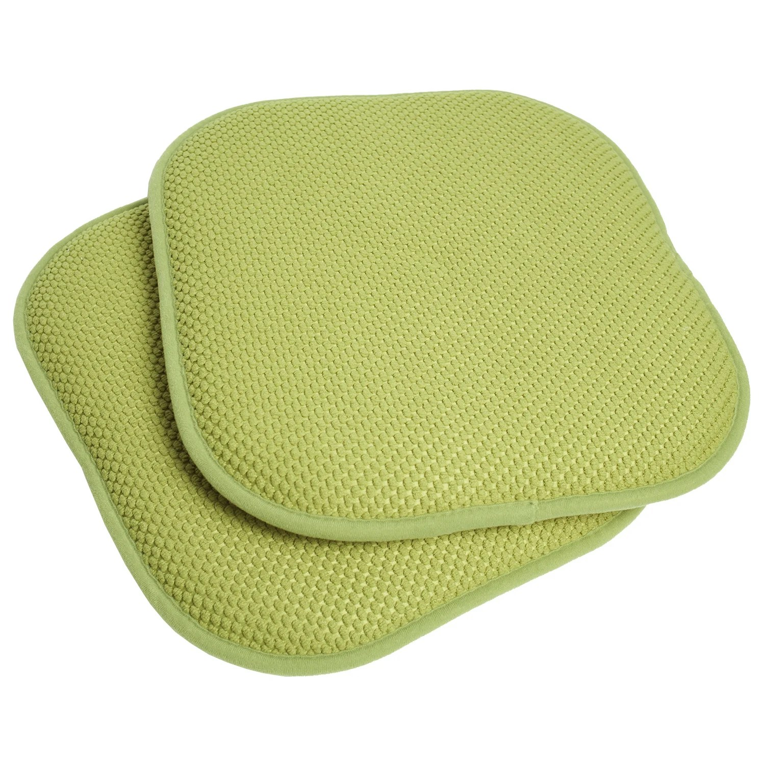 Foam Chair Cushions 16x16 Memory Foam Chair Pad Seat Cushion With Non Slip