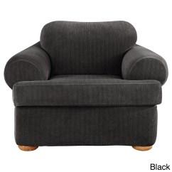 Sure Fit Stretch Pique 3 Piece T Cushion Sofa Slipcover Corner Sofas Images Uk White  Thesofa